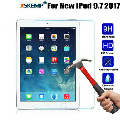 Genuine Premium Tempered Glass Film Screen Protector Cover For New iPad 9.7 2017