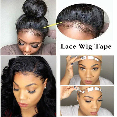 Double Sided Lace Front Support Wig Tape Strips Uk Seller 0 99