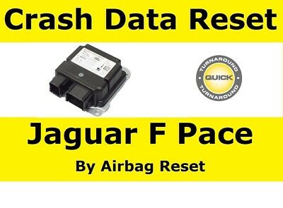 Crash Data Reset Service For Jaguar F Pace GX73 Airbag ecu's  |  GX73 14D374 AJ