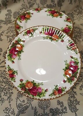 "Royal Albert ""Old Country Roses"" Dessert / Salat Teller / Starter Plate 20,5 cm"