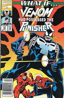 What If Venom Had Become The Punisher # 44 !! 1992 Possessed !! .99 Auctions