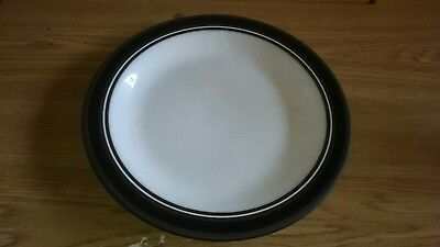 HORNSEA CONTRAST DINNER PLATE Vintage Retro Collectable