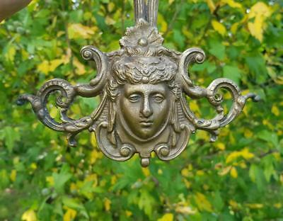 Stunning 19thC Antique French Gilt Bronzed Ormolu Marianne Wall Light Sconce