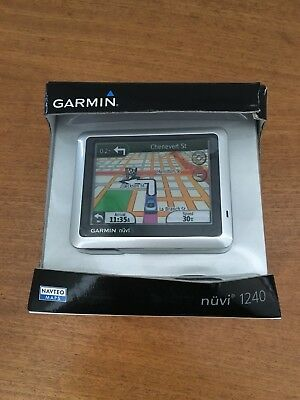 Garmin Nuvi 1240 Satnav Not Used Still Boxed