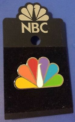 NBC TV Television Network Peacock NEW Lapel PIN Collectible Enamel 30 Rock Fan