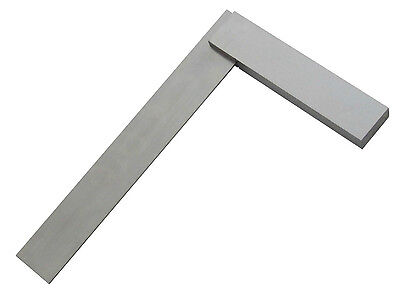 "12"" (300mm) ENGINEERS  POLISHED STEEL SET SQUARE BRAND NEW"