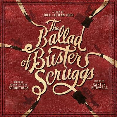 Carter Burwell - The Ballad Of Buster Scruggs (Soundtrack) VINYL LP