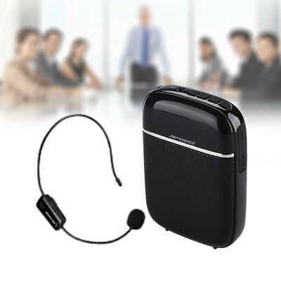 T2 10W Portable Wireless Voice Amplifier Booster +Microphone For Teaching Guide