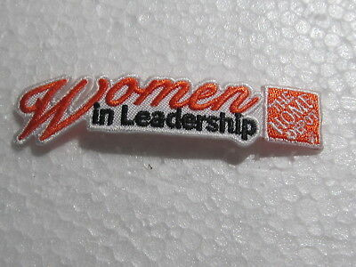 home depot collectibles woman in leadership patch