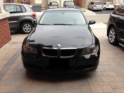 Black Gloss ABS Plastic Eyebrows For BMW 3 Series E90 E91 Eyelids Covers