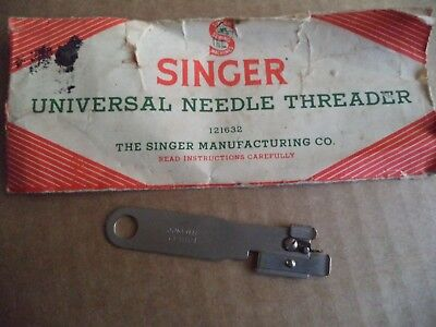 Vintage Singer Sewing-Singer Needle Threader 121632