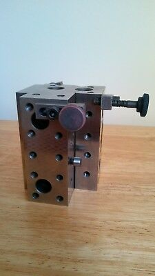Machinist Precision Grinding Cube Fixture
