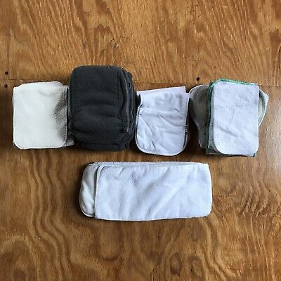 Large Lot Of Cloth Diaper Inserts/Doublers