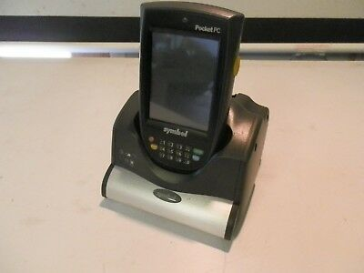Symbol Motorola PPT8846 Pocket PC Barcode Reader PDA with Cradle