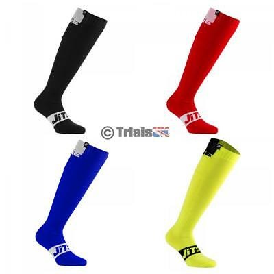 Jitsie SOLID Super Comfort Riding Socks - Trials/Trail/Cycle/Enduro/MX