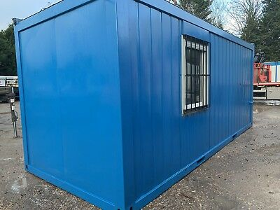 20ft x 8ft Container Office, Portable Building, Anti Vandal Unit