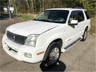 2007 Mountaineer Base AWD 4dr SUV 2007 Mercury Mountaineer Base AWD 4dr SUV 130,759 Miles White Sport Utility 4.0L