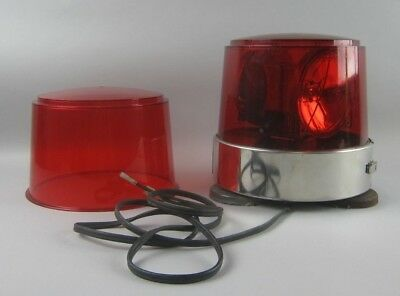 Federal Signal Corp. Rotating Beacon Light Model 14 12V Series A3 Red Dome
