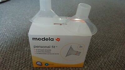 Pair of Medela Breast Shields In Size Small