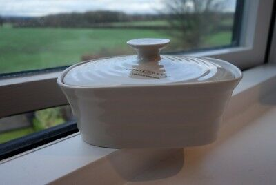 SOPHIE CONRAN BUTTER DISH - Portmeirion - Pebble Beige-  NEW