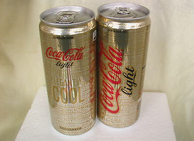 Coca Cola LIGHT Dose - TRUSSARDI two - 330 mL - ITALIEN - ELEGANTLY COOL 2 -NEU!