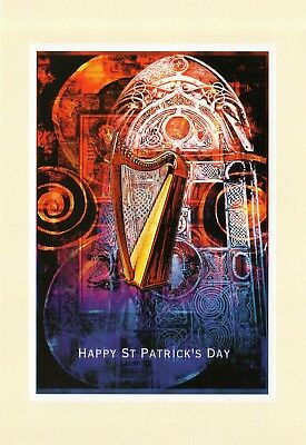 HQ - Postcard  XL   new  - HAPPY ST PATRICK'S DAY - beannachtai na feile padraig