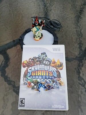 Skylanders GIANTS Wii Starter Pack Great Condition!  Same day shipping!