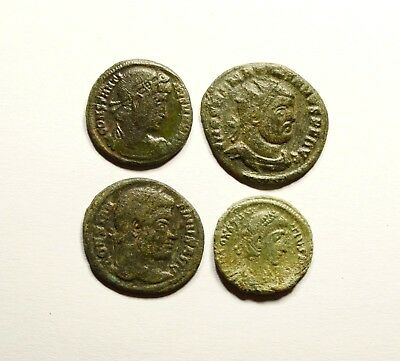 Stunning Lot Of 4 Roman Imperial Coins - Nice Quality