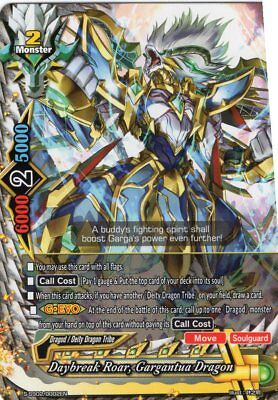 Buddyfight Daybreak Roar Gargantua Dragon