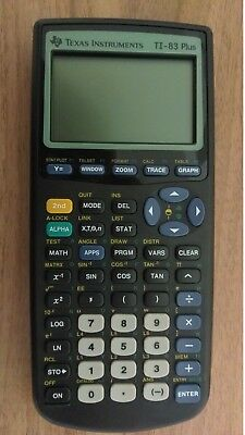 Texas Instruments TI-83 Plus Graphic Scientific Graphing Programmable Calculator
