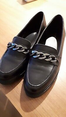 NEXT Ladies Girls Loafers shoes Size 7  41Bnwot