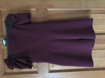 Girls River Island Burgundy Playsuit Age 11-12 NEW WITHOUT TAGS