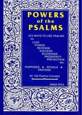 NEW Powers of the Psalms Book by Anna Riva BPOWPSA0SP