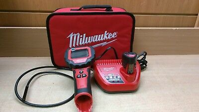 Milwaukee 2313-20 12V M-Spector Rotating Inspection Scope