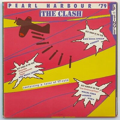 "THE CLASH Pearl Harbour '79 JAPANESE PRESS 1st LP With 7"" Single, Cover Obi MINT"