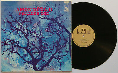 AMON DÜÜL II Phallus Dei 1971 FRENCH PRESSING United Artists Liberty KRAUTROCK