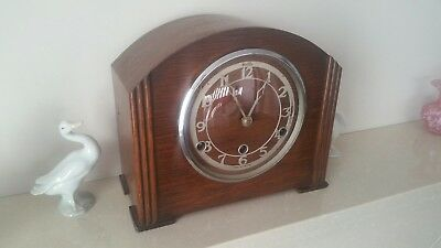 Vintage English  'BENTIMA' full Westminster Chime 8 Day Clock