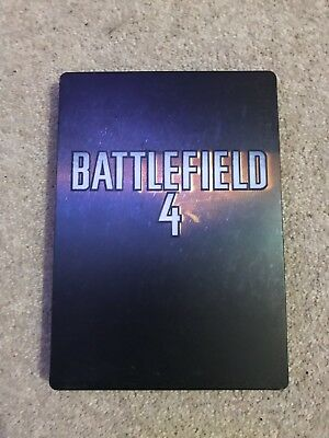 PS4 / Xbox One Battlefield 4 RARE -  STEELBOOK - CASE ONLY (No Game)