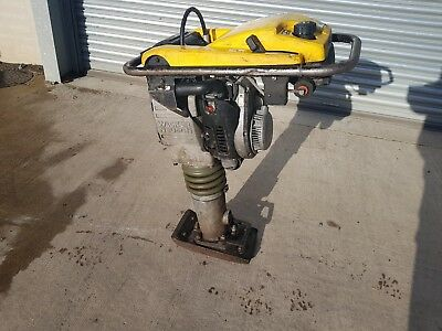 "Wacker Neuson Trench Rammer Bs502 2012 Year 7"" Jumping Jack Compactor Plate"