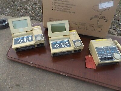 Medilink control units and suction units , sold as spares