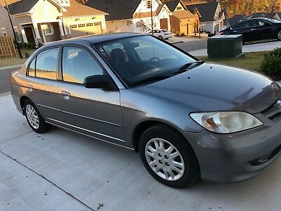 2004 Honda Civic LX 2004 Gray Honda Civic LX