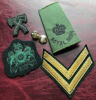 Army Patch With Axe