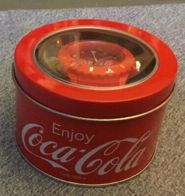 Coca Cola Watch In Mental Container