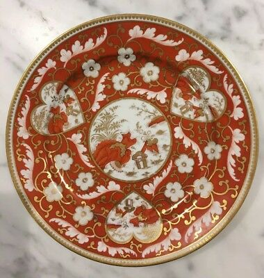 Gorgeous Early 19th Century Chamberlains-Worcester Plate MINT CONDITION