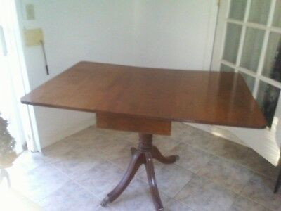 Antique Oak Clawfoot Dining Table
