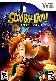 Nintendo Wii Scooby Doo First Frights NEW SEALED