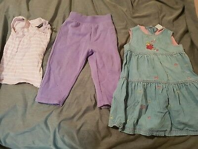 Bulk Lot Size 2 Toddler Girls Clothes. Includes Faded Glory, Cotton On Kids,...