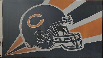 NEW Chicago Bears Flag Large 3'X5' NFL Banner Top Quality and FREE SHIPPING