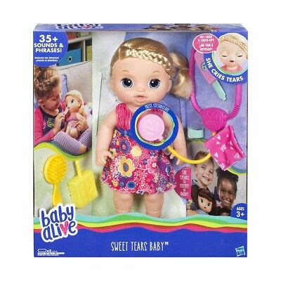 Baby Alive Sweet Tears Baby NEW *Free POSTAGE* Xmas Gift Doll