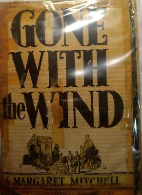 Gone With The Wind First Edition, October 1936 Printing, Original Dust Jacket